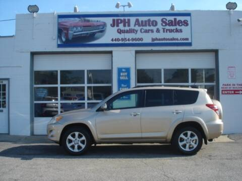 2010 Toyota RAV4 for sale at JPH Auto Sales in Eastlake OH