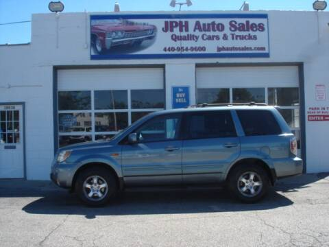 2007 Honda Pilot for sale at JPH Auto Sales in Eastlake OH