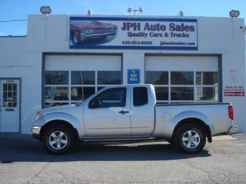 2009 Nissan Frontier for sale at JPH Auto Sales in Eastlake OH