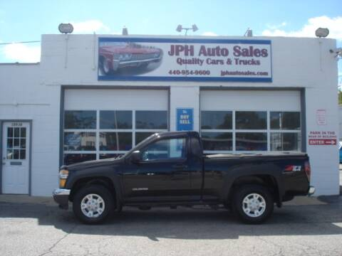2005 Chevrolet Colorado for sale at JPH Auto Sales in Eastlake OH