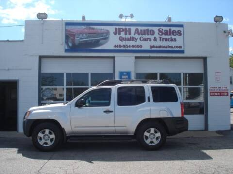 2008 Nissan Xterra for sale at JPH Auto Sales in Eastlake OH