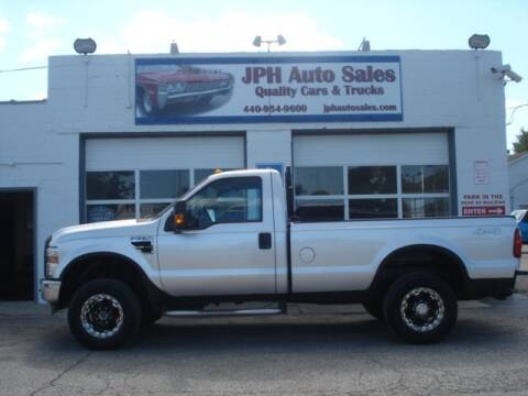 2010 Ford F-250 Super Duty for sale at JPH Auto Sales in Eastlake OH