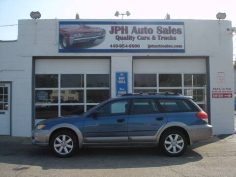 2008 Subaru Outback for sale at JPH Auto Sales in Eastlake OH