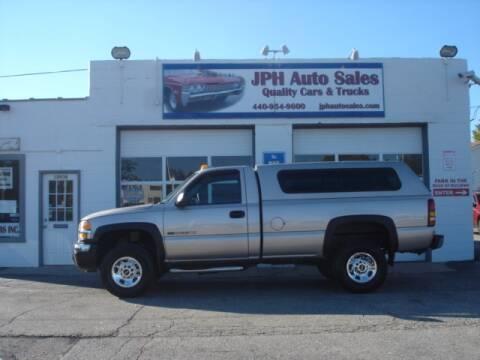 2005 GMC Sierra 2500HD for sale at JPH Auto Sales in Eastlake OH