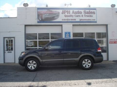 2009 Kia Borrego for sale at JPH Auto Sales in Eastlake OH