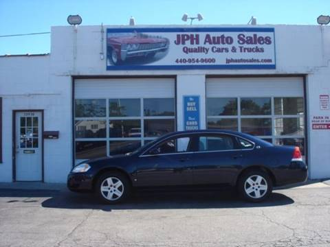 2008 Chevrolet Impala for sale in Eastlake, OH