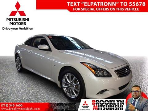 2015 Infiniti Q60 Coupe for sale in Brooklyn, NY