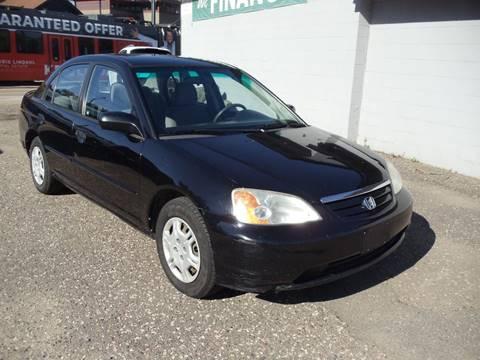 2001 Honda Civic for sale in Minneapolis, MN