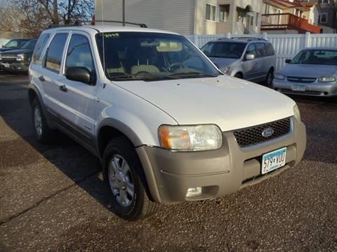 2002 Ford Escape for sale in Minneapolis, MN