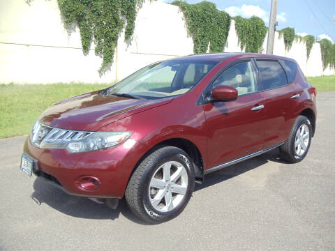 2010 Nissan Murano for sale at Metro Motor Sales in Minneapolis MN