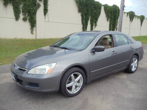 2007 Honda Accord for sale at Metro Motor Sales in Minneapolis MN