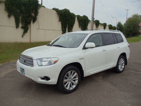2008 Toyota Highlander Hybrid for sale at Metro Motor Sales in Minneapolis MN