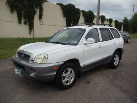 2003 Hyundai Santa Fe for sale at Metro Motor Sales in Minneapolis MN