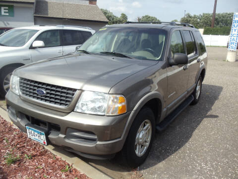 2002 Ford Explorer for sale at Metro Motor Sales in Minneapolis MN