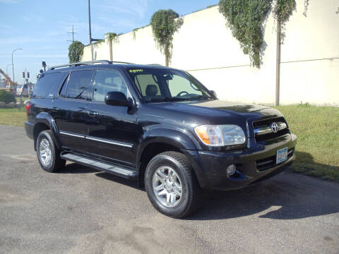 2006 Toyota Sequoia for sale at Metro Motor Sales in Minneapolis MN