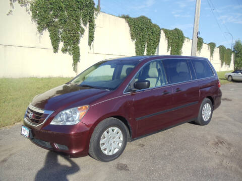 2010 Honda Odyssey for sale at Metro Motor Sales in Minneapolis MN