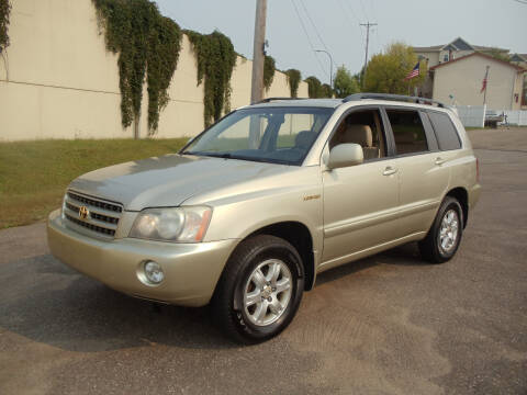 2003 Toyota Highlander for sale at Metro Motor Sales in Minneapolis MN