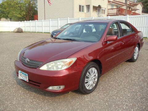 2003 Toyota Camry for sale at Metro Motor Sales in Minneapolis MN