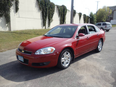2008 Chevrolet Impala for sale at Metro Motor Sales in Minneapolis MN