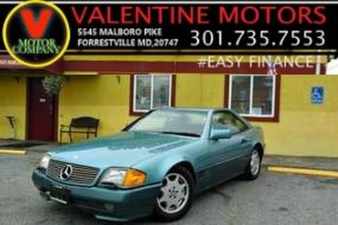 1991 Mercedes-Benz 300-Class for sale in District Heights, MD