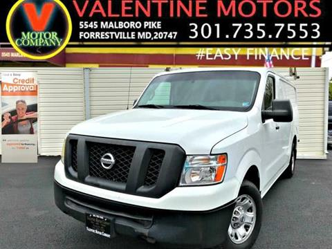 2014 Nissan NV Cargo for sale in District Heights, MD