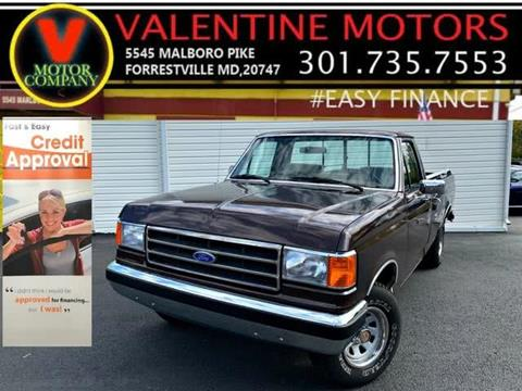 1990 Ford F-150 for sale in District Heights, MD