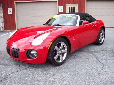 2007 Pontiac Solstice for sale at Clift Auto Sales in Annville PA