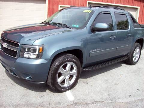 2011 Chevrolet Avalanche LT for sale at Clift Auto Sales in Annville PA