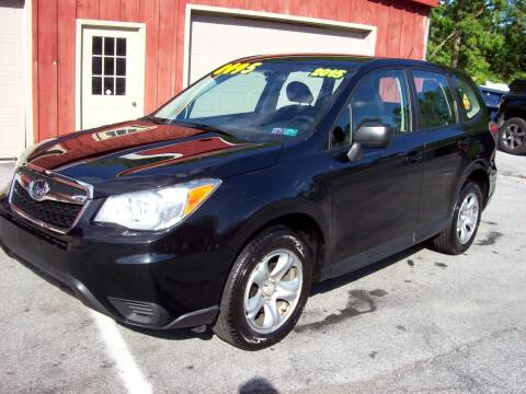 2015 Subaru Forester 2.5i for sale at Clift Auto Sales in Annville PA