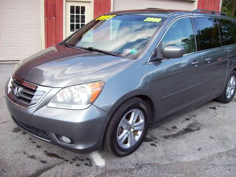 2009 Honda Odyssey Touring for sale at Clift Auto Sales in Annville PA