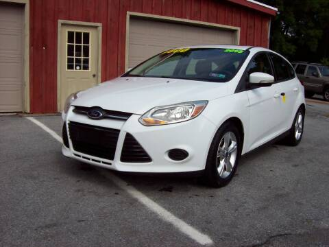 2013 Ford Focus for sale at Clift Auto Sales in Annville PA
