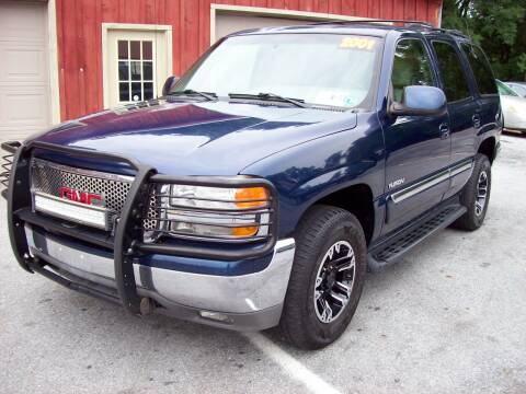 2001 GMC Yukon for sale at Clift Auto Sales in Annville PA