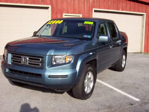 2008 Honda Ridgeline for sale at Clift Auto Sales in Annville PA