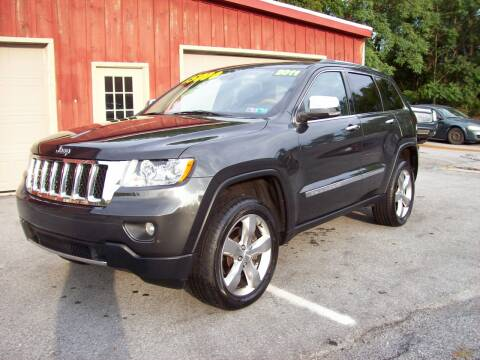 2011 Jeep Grand Cherokee for sale at Clift Auto Sales in Annville PA