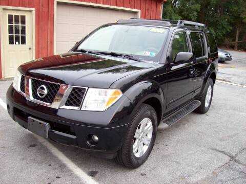 2007 Nissan Pathfinder for sale at Clift Auto Sales in Annville PA