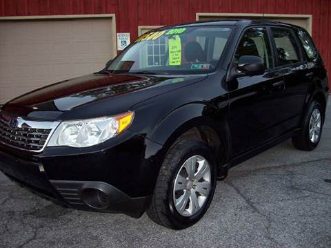 2010 Subaru Forester for sale at Clift Auto Sales in Annville PA