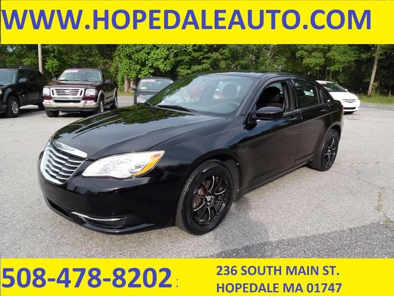 2012 Chrysler 200 LX 4dr Sedan - Hopedale MA