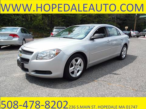 2010 Chevrolet Malibu for sale in Hopedale, MA