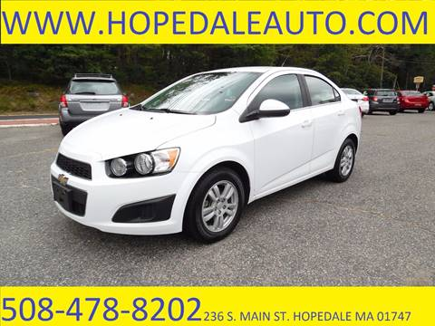 2014 Chevrolet Sonic for sale in Hopedale, MA