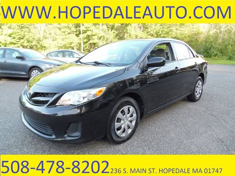 2011 Toyota Corolla for sale in Hopedale, MA