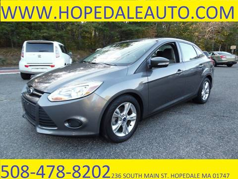 2014 Ford Focus for sale in Hopedale, MA
