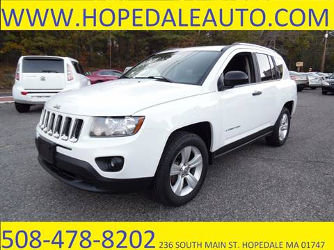 2014 Jeep Compass for sale in Hopedale, MA