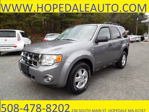 2008 Ford Escape for sale in Hopedale, MA