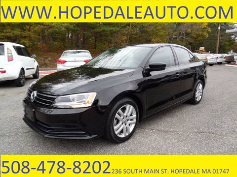 2015 Volkswagen Jetta for sale in Hopedale, MA