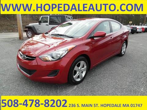 2011 Hyundai Elantra for sale in Hopedale, MA