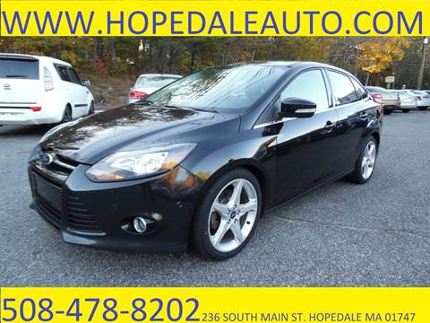 2013 Ford Focus for sale in Hopedale, MA