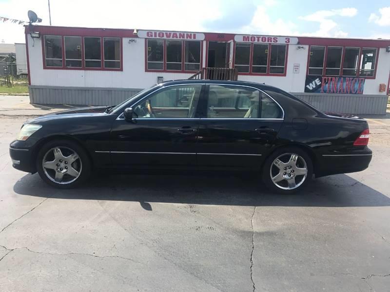 2005 Lexus Ls 430 Detroit Used Car for Sale