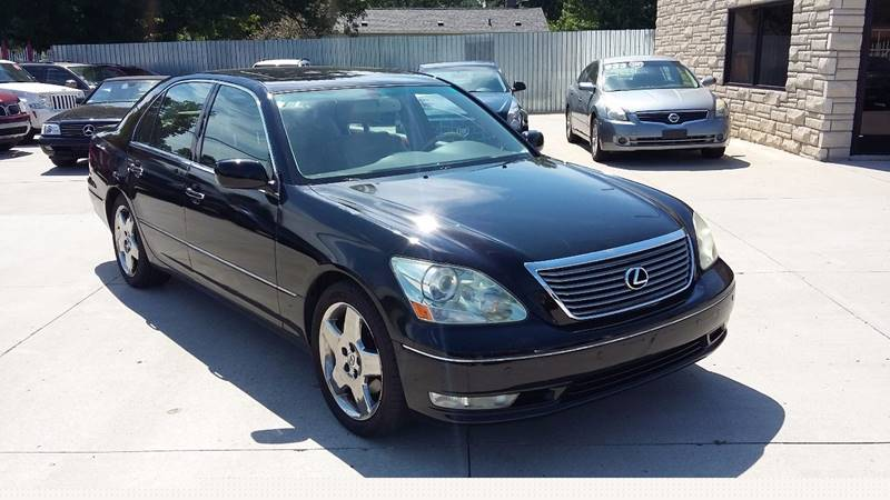 2005 Lexus Ls 430 Detroit Used Car for Sale