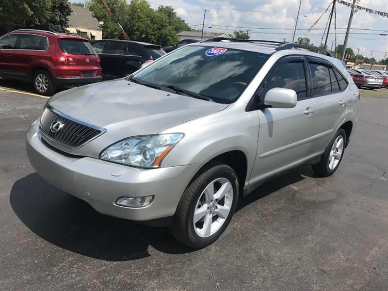 2007 Lexus Rx 350 car for sale in Detroit