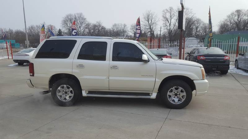 2004 Cadillac Escalade Detroit Used Car for Sale